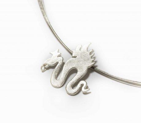 Lucas Cranach Schlange in Silber