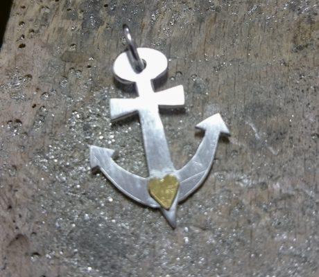 Silberanhänger Glaube-Liebe-Hoffnung
